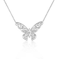 VAOOV 925 Ayar Gümüş Kelebek Kolye
