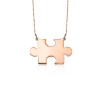 Azuris Silver Puzzle Kolye