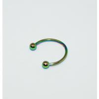 Cadının Dükkanı 316 L Cerrahi Çelik Toplu Neon Yarım Ay Piercing (12 mm)