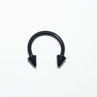 Cadının Dükkanı 316 L Cerrahi Çelik Spike Yarım Ay Piercing (8 mm)