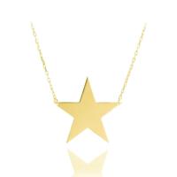 Vaoov 925 Ayar Gümüş Yıldız Kolye