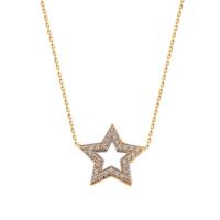 Allegro Gold Altın Yıldız Kolye ALK0127