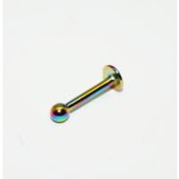 Cadının Dükkanı 316L Cerrahi Çelik Toplu Neon Dudak Piercing
