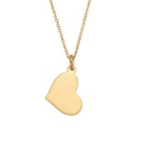 Altınsepeti Rose Altın Taşsız Minik Kalp Kolye As1231Klr2