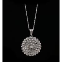 Akyüz Gümüş Bereket Modeli Telkari Gümüş Kolye