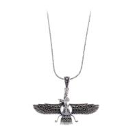 Akyüz Gümüş Küçük Boy Ahura Mazda Markazit Gümüş Kolye