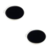 Chavin Onyx Taşlı Gümüş Kol Düğmesi Cc76