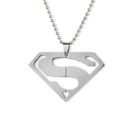 Modakedi Titanyum Superman Erkek Kolye