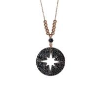Sanroza Gümüş Takı Yıldız Gümüş Kolye
