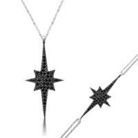 MeryemZeynep Gümüş Kutup Yıldızı Set