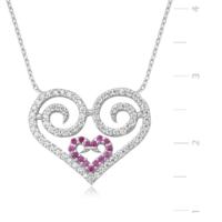 MeryemZeynep Kalbimin Kalbi Gümüş Kolye
