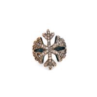 Sümer Telkari Kar Tanesi Tasarım Gümüş Yüzük 1596 12