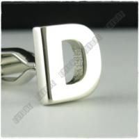 Extore Kol Düğmesi Harfler Serisi D Harfi Kd01D