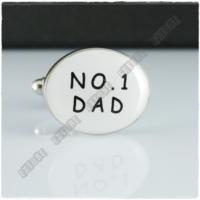 Extore Kol Düğmesi No1 Dad Babalar Günü Kd060