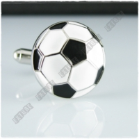 Extore Kol Düğmesi Meşin Futbol Topu Kd066