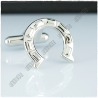 Extore Kol Düğmesi At Nalı - Şanslı Horse Kd099