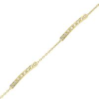 Goldstore 14 Ayar Altın Su Yolu Çubuk Bileklik Gb32322