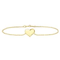 Goldstore 14 Ayar Altın Kalp Bileklik Gb40164