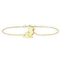 Goldstore 14 Ayar Altın Aslan Bileklik Gb40230