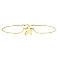 Goldstore 14 Ayar Altın Yıldız Bileklik Gb40264