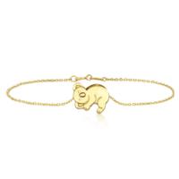 Goldstore 14 Ayar Altın Koala Bileklik Gb40285