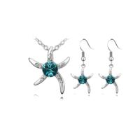 Myfavori Takı Seti Yeni Sezon Deniz Yıldızı Gümüş Kaplama Moda Takı Seti