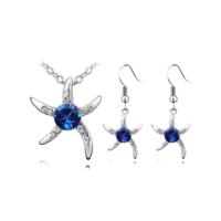 Myfavori Takı Seti Yeni Model Deniz Yıldızı Gümüş Kaplama Moda Arkadaşa Hediye Takı Seti
