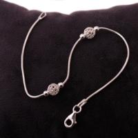 Sümer Telkari Trend Gümüş Bileklik 1131
