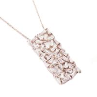 Sümer Telkari Yeni Trend Baget Gümüş Kolye 1031