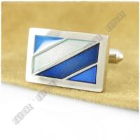 Extore Kol Düğmesi Klasik Model Mavi Kd436