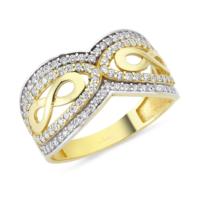 AltınSepeti Altın Taşlı Sonsuzluk Yüzük AS8Y62 18