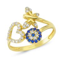 AltınSepeti Altın Şans Yüzüğü AS57YZ 10