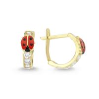 AltınSepeti Altın Uğur Böceği J Küpe AS75KP