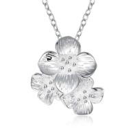Myfavori Kolye Yeni Sezon 925 Gümüş Kaplama Gerdanlık Kolye Romantik Çiçek Kolye Modelleri