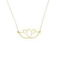 Tuğrul Kuyumculuk Altın Lotus Çiçeği Kolye T031112