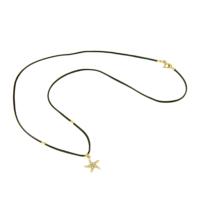 Tuğrul Kuyumculuk Yılbaşına Özel Altın Deniz Yıldızı İp Kolye T031839
