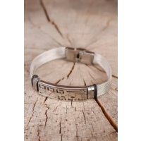 Morvizyon Yeni Sezon Çelik Tasarım Erkek Bileklik Eb870