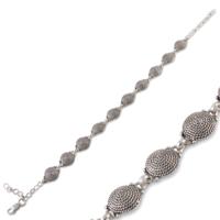 Akyüz Gümüş Telkari Gümüş Bileklik Bt041