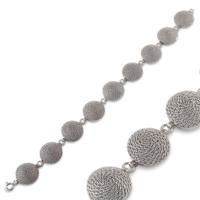 Akyüz Gümüş Telkari Gümüş Bileklik Bt042