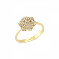 SembolGold Altın Kartanesi Yüzükler SG42-3505