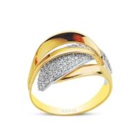 Assos Sembolgold 14 Ayar Altın Fantazi Yüzük SG42-22223