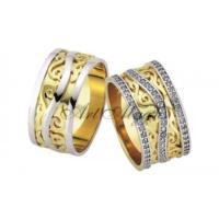 ArtAlyans Altın Elişi Alyans ART42-3589