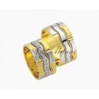 ArtAlyans Altın Elişi Alyans ART42-3587