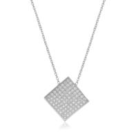 Coşar Silver Zirkon Taşlı Gümüş Kolye Cz2400N-2