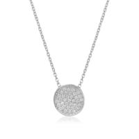 Coşar Silver Gümüş Kolye Zirkon Taşlı Cz2402N-2
