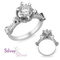 Silver & Silver Özel İbrik Yüzük