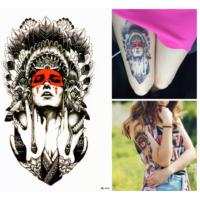 Çınar Geçici Dövme Ancient Woman