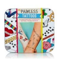 Npw Acısız Dövme - Painless Tattoos - 45 Geçici Dövme Seti