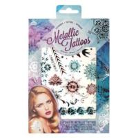 Npw Wonderland Metallic Tattoos - Metalik Dövmeler - 2 Tabaka - Geçici Dövme Seti