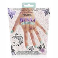 Npw Glitter Henna Tattoos – Pink Purple – Simli Kına Gecesi Dövme Seti – Pembe Ve Mor